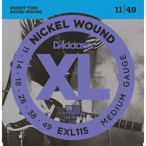 D'Addario EXL115 Saitenset